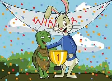 Hare And Tortoise Motivation Inspiration
